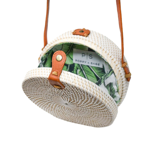 White Camilla Circle Bag