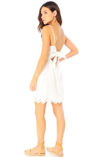 Mara Mini Dress in White
