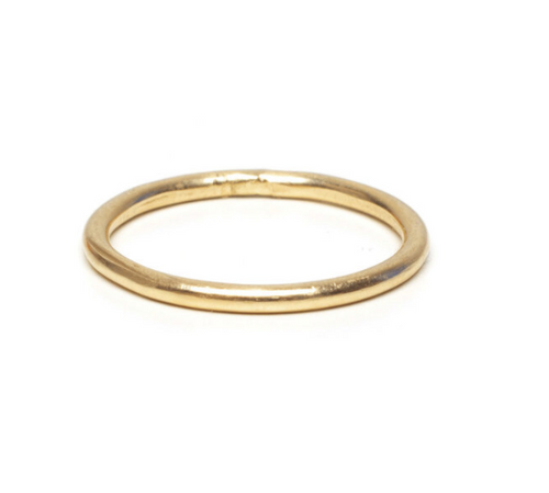 Gold Member Round Ring