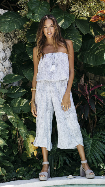 Jumpsuit Ziggy in Viper White
