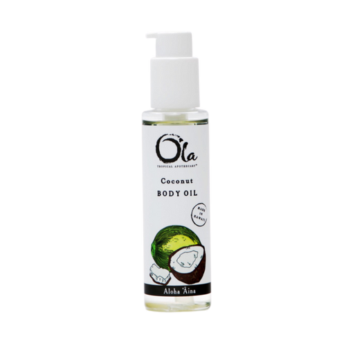 all natural ingredients blending coconut oil, avocado oil, macadamia nut oil, kukui nut oil and passion fruit seed oils