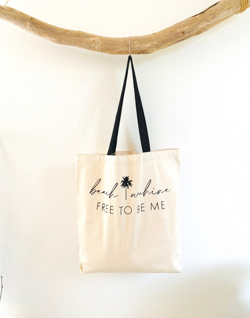 "Beach Wahine ""Free To Be Me"" Tote"