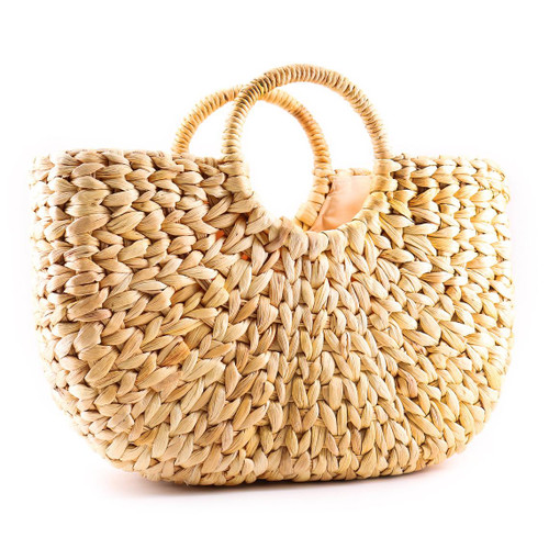 Boat Rattan Straw Bag