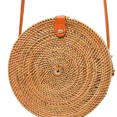 Natural Camilla Circle Bag