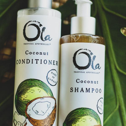 Coconut Shampoo and Conditioner Set (8 fl oz)