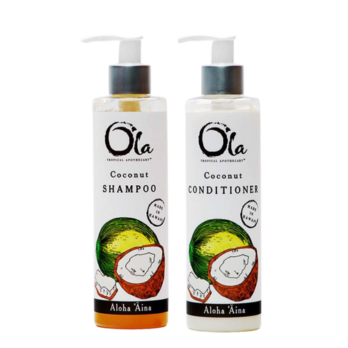 Coconut Shampoo and Conditioner Set (8 fl oz)