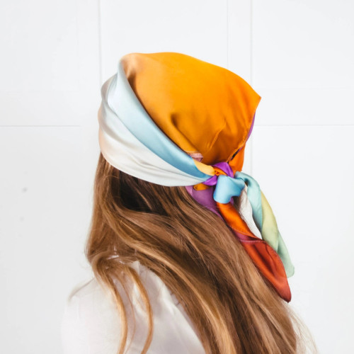 Beverly Bandana Scarf in Ombre