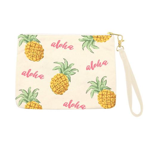 Aloha Pineapples Clutch