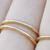 Gold Member Round Ring