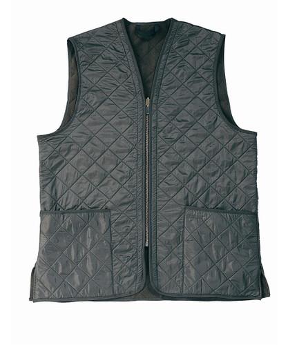 Barbour Polarquilt Vest Zip In Liner Green Nowells