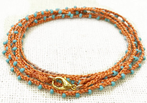 Necklaces - Golden Age / Crochet (Gold & Silver Plated) - Crochet