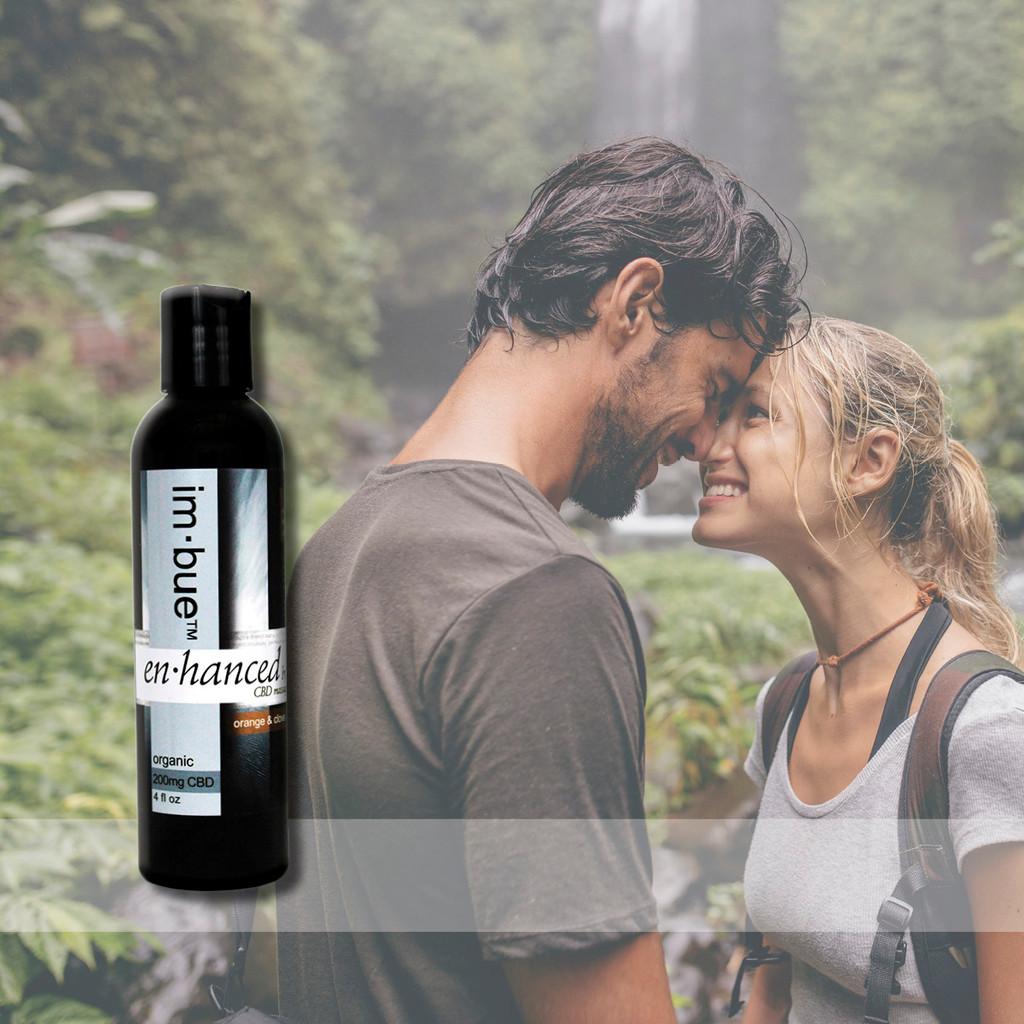 im·bue™ - en·hanced by em·body 200mg premium CBD massage oil - orange & clove - 4 ounce bottle
