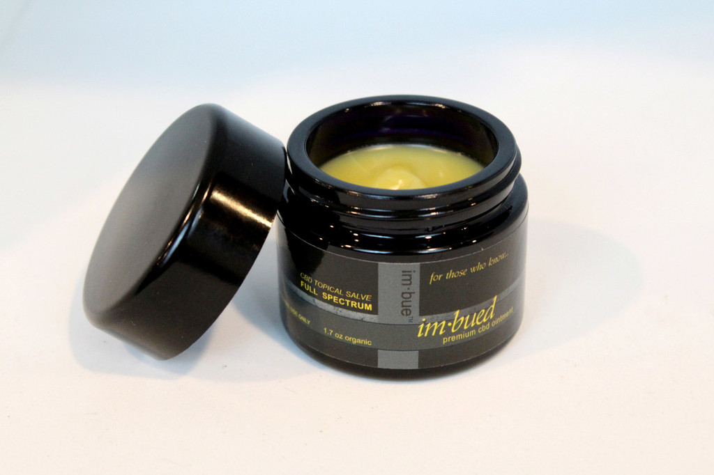 IM·BUED BLACK LABEL 340MG PREMIUM CBD SALVE -  1.7 OUNCE JAR