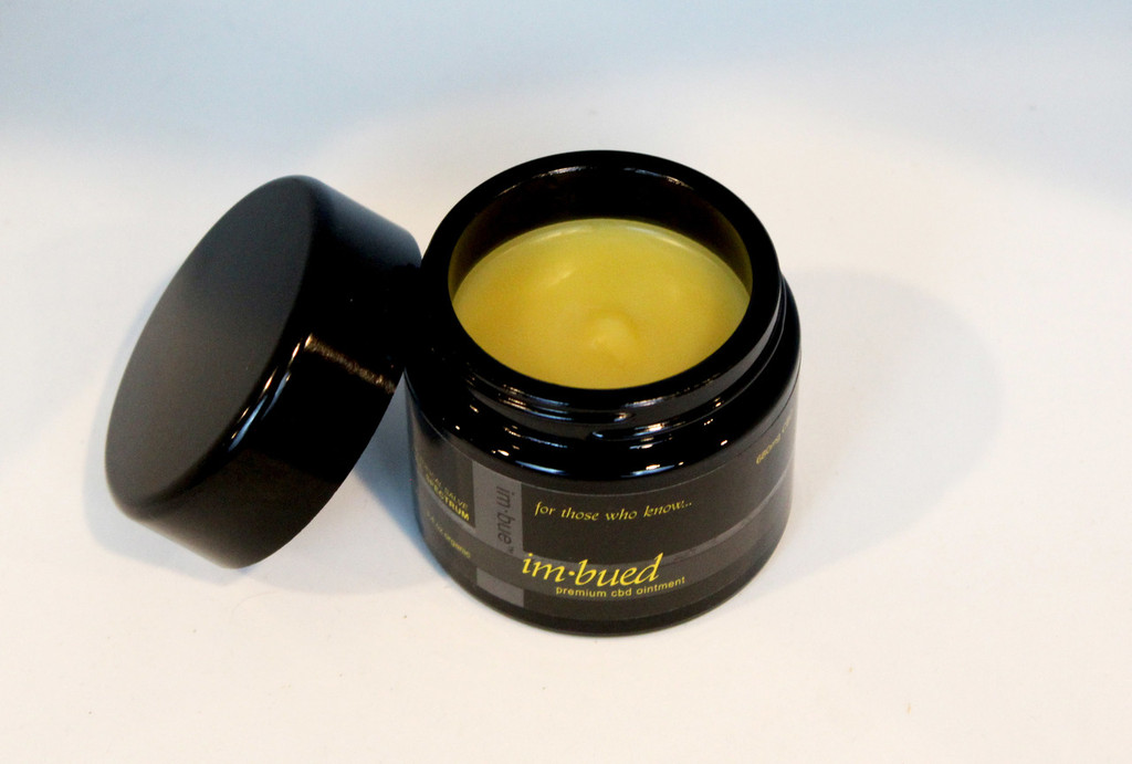 IM·BUED BLACK LABEL 680MG PREMIUM CBD SALVE -  3.4 OUNCE JAR