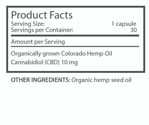 im·bue� k9capsules - 10mg premium CBD capsules - 30 count