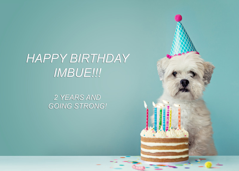 Happy Birthday Imbue!