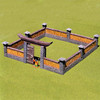 ACJ007 Samurai Walls With Gate