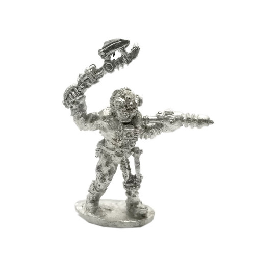 LLSF306 Cyber Punk Cyborg Dwarf Miner