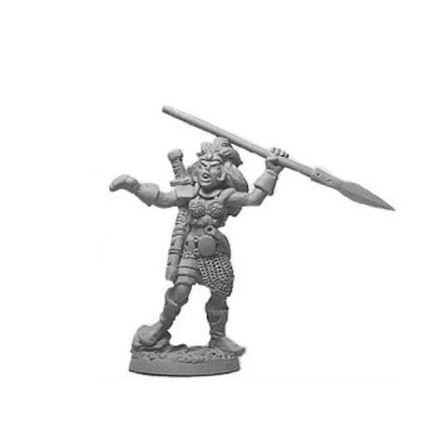 LL03058B Viking Female Warrior w/ Spear