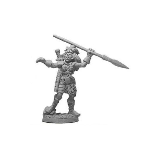 LL03058B Viking Female Warrior w/ Spear
