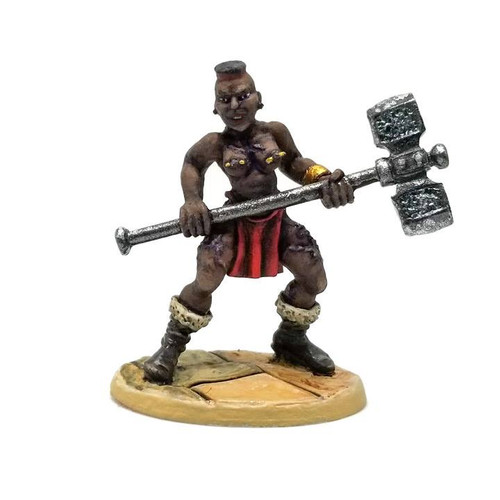 LL03070B Sister Grace Sledge Barbarian Warrioress - Front
