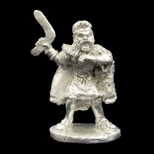 LL00146 Barbarian Warrior w/ Boomerang
