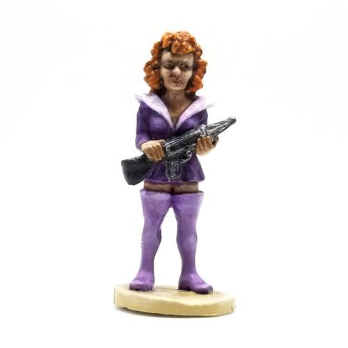 Jane - Retro Female Space Adventurer w/ Raygun.