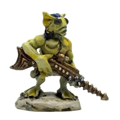 LLSF609 Alien Trooper w/Dagger & Raygun.  Supplied unpainted.