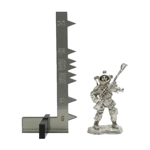 LLSF611 Zombie Astronaut w/Laser Rifle
