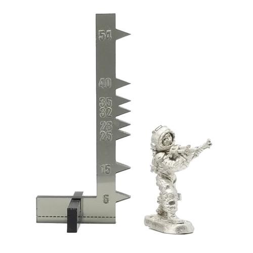 LLSF612 Zombie Astronaut w/Laser Pistol