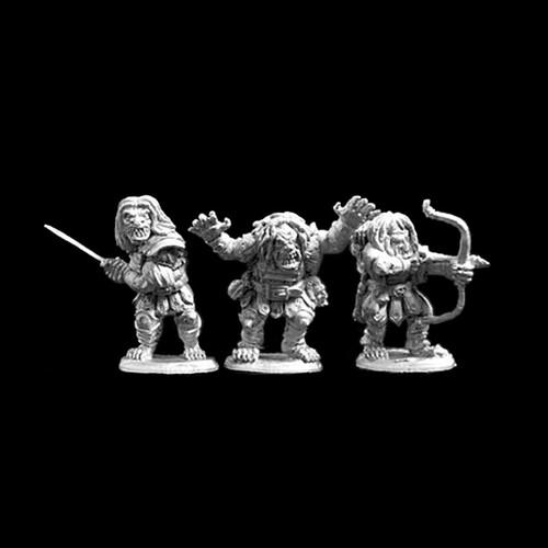 LL04009 Half Troll Bodyguards (3)