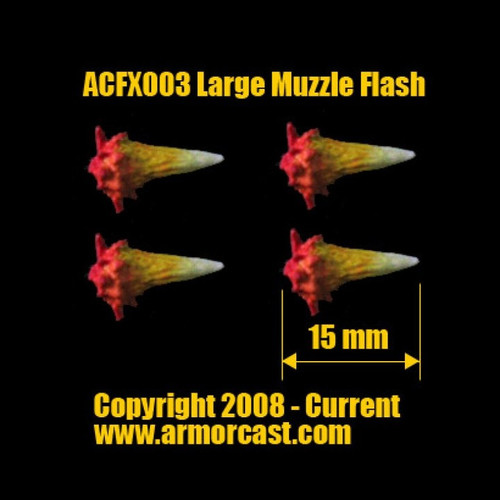 ACFX003 Large Muzzle Flash