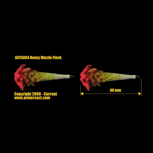 ACFX004  Heavy Muzzle Flash (2 pcs)