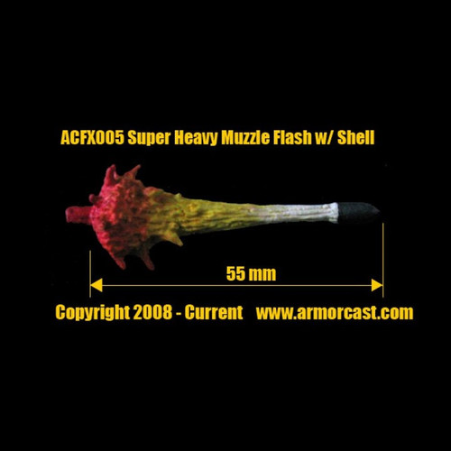 ACFX005 Super Heavy Muzzle Flash w/ Shell