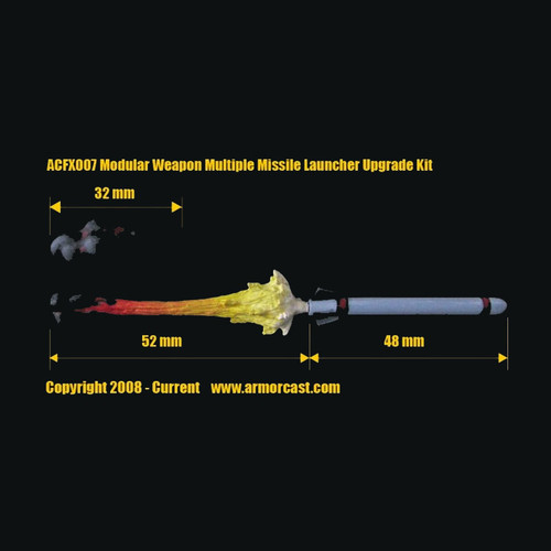 ACFX007 Modular Weapon Multiple Missile Launcher Upgrade Kit