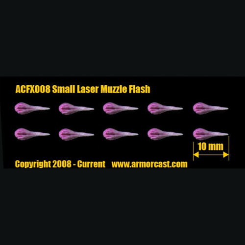 ACFX008 Small Laser Muzzle Flash (10pcs)