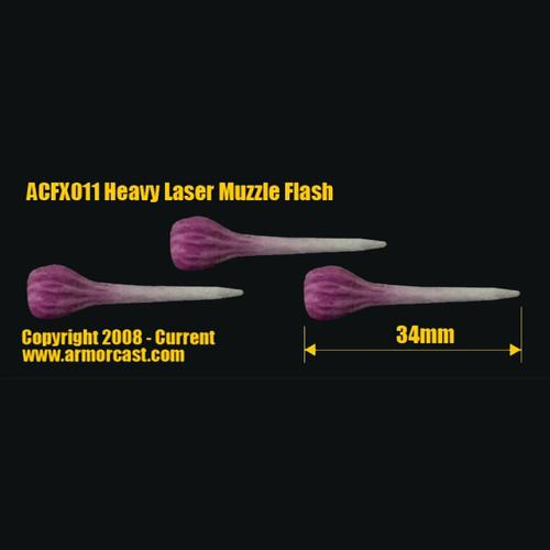 ACFX011 Heavy Laser Muzzle Flash (3pcs)