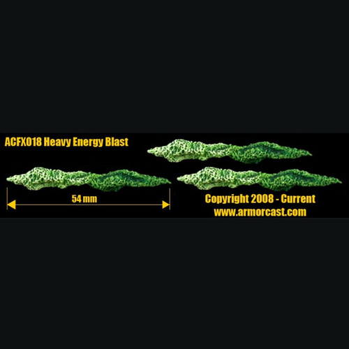ACFX018 Heavy Energy Blast (3 pcs)
