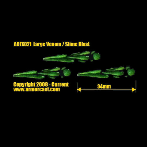 ACFX021 Large Venom / Slime Blast (3 pcs)