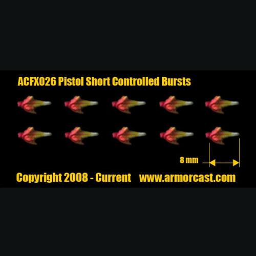 ACFX026 Pistol Short Controlled Bursts 10pcs