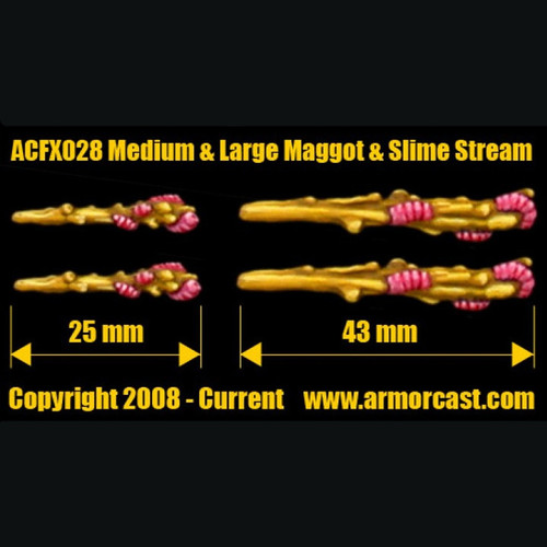 ACFX028 Medium & Large Maggot & Slime Stream