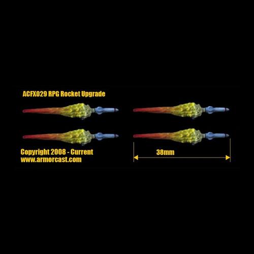 Armorcast ACFX030 Mega Cannon Burst Upgrade Firearm Weapon Bits
