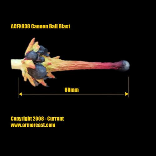 ACFX038 Cannon Ball Blast (1 pc)