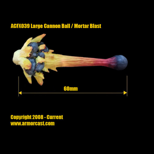 ACFX039 Large Cannon Ball / Mortar Blast (1 pc)