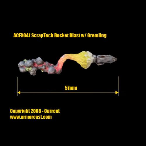 ACFX041 ScrapTech Rocket Blast w/ Gremling (2 pc)