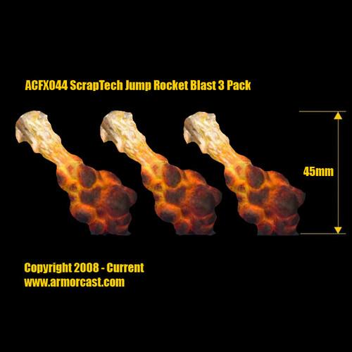 ACFX044 ScrapTech Jump Rocket Blast 3pk