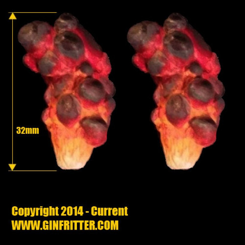 GGWFX001 Medium Smoke Plume x 2 Pcs