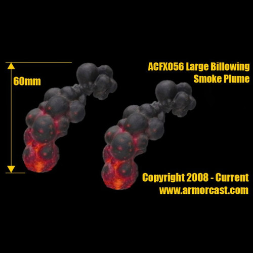 ACFX056 Large Billowing Smoke Plume (2pcs)