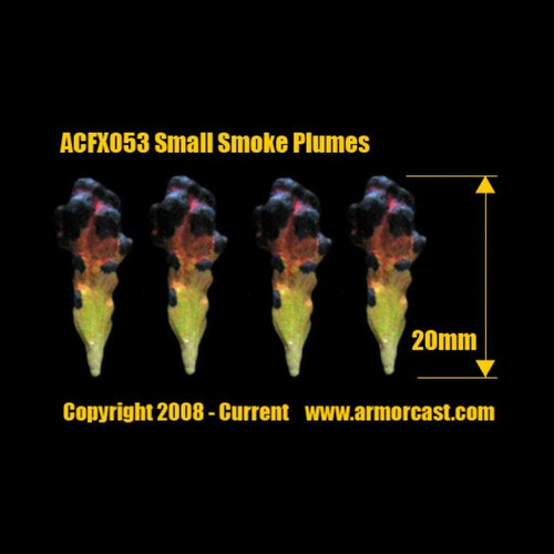 ACFX053 Small Smoke Plume (4pcs)