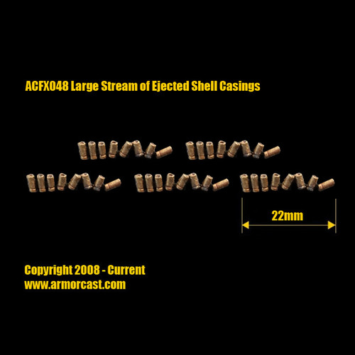 ACFX048 Large Stream of Ejected Shell Casings (5pcs)